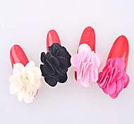 5pcs Manicure Magnet Fabric flower  A flower   Removable Manicure Flower Ornaments  6 Optional  NO.406-411