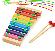 Wooden Octave Knock Piano Music For Children Preschool Toys Beat