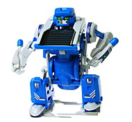 DIY 3 in 1 Solar Powered Gadgets For Boy Children Educational ABS White / Blue