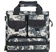 10 L Gurttaschen & Messenger Bags Camping & Wandern Draußen Wasserdicht Grau / Schwarz / Braun / Tarnfarben Nylon
