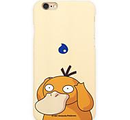 Pocket Little Monster Psyduck 5.5 inch Iphone 6p/6splus Hard Matting Cellphone Cover