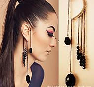 Women's Fashion Black Pendant Drop Earring