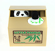 Itazura Piggy Bank Stealing Coin Panda Bank 11.5cm