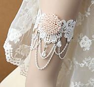 Bracelete Renda Moderno Preto Jóias,1pç