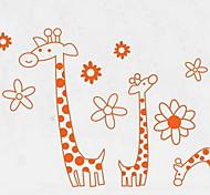 Animais Wall Stickers Autocolantes de Aviões para Parede Autocolantes de Parede Decorativos,PVC Material Removível Decoração para casa