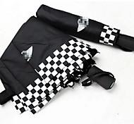 paraguas mini cooper paraguas plegable automático de apertura y cierre de paraguas de la lluvia del sol necesaria