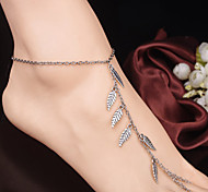The Leaves Style Mitten Anklet