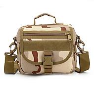 8 L Shoulder Bag Camping & Hiking Outdoor Waterproof / Multifunctional Camouflage Nylon