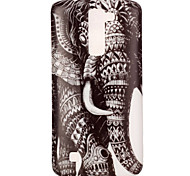 Para Funda LG Diseños Funda Cubierta Trasera Funda Elefante Suave TPU LG LG K8 / LG K4