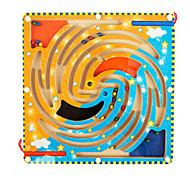 Magnetic Wooden Maze(Bird)
