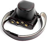 empujar alrededor de la pluma f funda de la cámara penf bolsa de la cámara de la batería extraíble