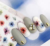 Nail Art prego etiqueta Decalques de transferência de água