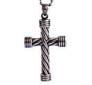 Jesus Cross Titanium Necklace Pendant Personality