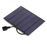 3.5W 5V USB Output Monocrystalline Silicon Solar Panel Charger for iPhone 6S Samsung HUAWEI (SW3505U)