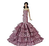 Matrimonio Abiti Per Barbie Doll Fucsia Abiti