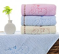 "1 Piece Full Cotton Hand Towel 28""by12"" Cartoon Pattern MultiColor Super Soft Strong Water Absorption Capacity"