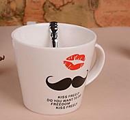 Beard Ceramic Cup Double Lip Seal Design