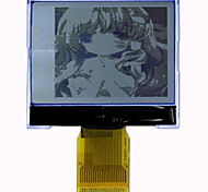 128128G-338-BN, LCD Module, 2.4 inch LCD screen, with I2C and string and optional, four gray level