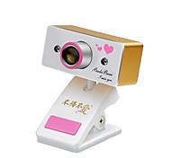 USB 2.0 webcam CMOS 0.8m 1024x768 30fps oro