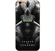 So Cool Ultra-thin Other TPU Soft League of Legends,So Cool Case Cover For  IPhone 5/6/6s/6plus/6s plus CFYX06