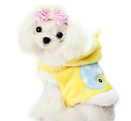 Dog Coat Blue / Pink / Yellow Dog Clothes Winter Fashion