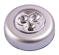 MLSLED® 3 * AAA 0.5W 30lm 3x5730 LED White Light Creative Round Pressed Light