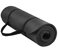 NBR Yoga Mats Thick / Odor Free / Non Slip / Eco Friendly / Non Toxic (1/3 inch) 8 / (0.4 inch) 10 / (0.6 inch) 15Pink /