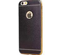 Striae Plating TPU Material Phone Case for iPhone 6 6S 6 Plus 6S Plus