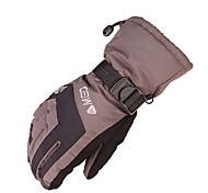 Winter Gloves Unisex Keep Warm Ski & Snowboard Yellow / Red / Coffee / Black / Blue Canvas Free Size-Others