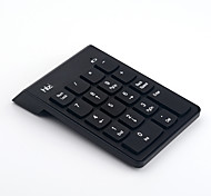 USB 2.4G Wireless Numeric Keypad Small Mini Keyboard With Calculator Key For Accounting Tablet Laptop Desktop