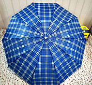 10K Triple Shot Down Plaid Umbrella Sunny Umbrellas Mini Portable Umbrella Umbrellas