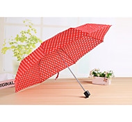 Couple Color Umbrella Seventy Percent Off Umbrella Short Handle Umbrella Umbrella Umbrella
