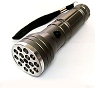 15 + 1 Three Model 10 LED White Light + 5LED Purple Light +1 Laser Flashlight