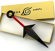 Arme / Epée Inspiré par Naruto Naruto Uzumaki Anime Accessoires de Cosplay Arme Blanc / Rouge PVC Masculin