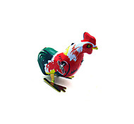 The Cock Wind-up Toy Leisure Hobby Metal Red For Kids