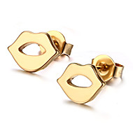 Earring Others Stud Earrings Jewelry Women Fashion Daily / Casual Stainless Steel 1 pair Gold
