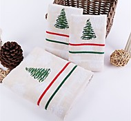 3 Pcs Full Cotton Bath Towel Set (1 Bath Towel, 2 Hand Towel) Strong Water Absorption Capacity Anti-microbico