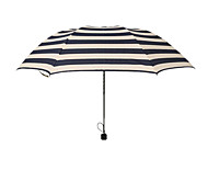 High-Grade Clear Umbrella Pencil Umbrella Creative Umbrella Navy Stripes