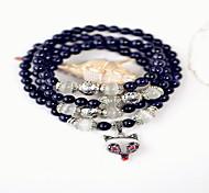 Women Alloy Silver Fox Strand Bracelets