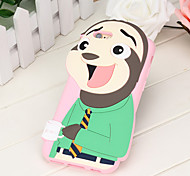 "indietro Other Fantasia ""Cartone 3D"" Silicone Morbido 3D cartoon Copertura di caso per Apple iPhone 6s Plus/6 Plus / iPhone 6s/6"