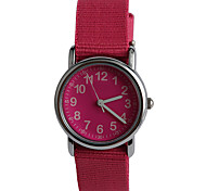 Simple Fashion Nylon Connection With A Child Watch