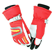 Ski Gloves Unisex Activity/ Sports Gloves Keep Warm Gloves Ski & Snowboard Canvas Green Red Blue