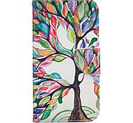 Для Кейс для Motorola Кошелек / Бумажник для карт / со стендом / Флип Кейс для Чехол Кейс для дерево Твердый Искусственная кожа Motorola