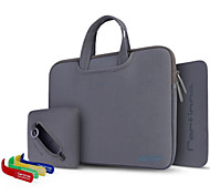 4 in1 Mysterious Respiratory Solid Computer Bag Series for MacBook 15.4
