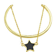 Fashion Enamel Star Layers Chain Bracelets