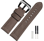 Watch Band 26mm For Garmin Fenix 3 Leather Bracelet Strap Fashion Design New Watch Band