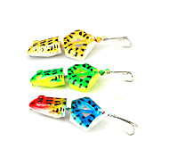 8cm/12g  4Colors Hard Plastic Frog Baits Fishing/Freshwater Fishing/Lure Fishing