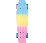 22 дюймы крейсера скейтборда Офис ПП (полипропилен) Abec-7 Радужный