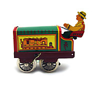 The Tractor Wind-up Toy Leisure Hobby Metal Green For Kids