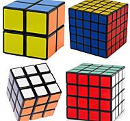 Shengshou® Smooth Cube Velocità 2*2*2 / 3*3*3 / 4*4*4 / 5*5*5 Velocità Cubi Nero PVC